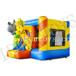 Inflatable Giraffe Bouncy Castle / Jumping Castle / Mini Bounce Party for Kids