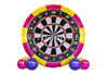 Double Sides Shooting Games Inflatable Soccer Dart Board Football Score Darts