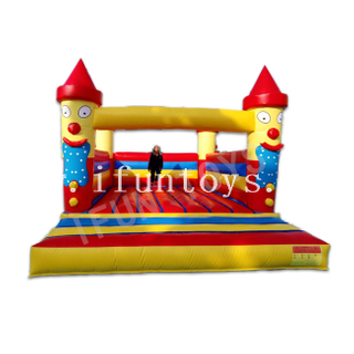 Smile Face Inflatable Children Jumping Castle / Inflatable Bouncy House / Trampoline Bouncy for Birthday Party