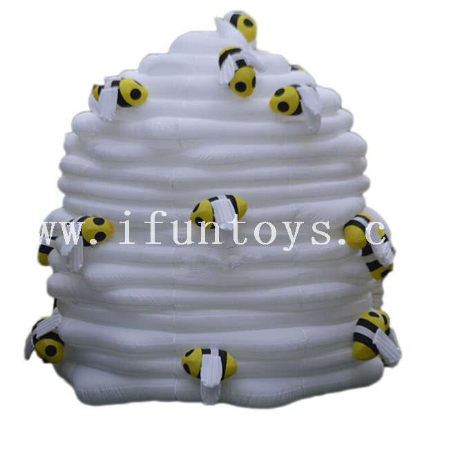 Customized Inflatable Animal / Inflatable Bee with Honey for Advertising