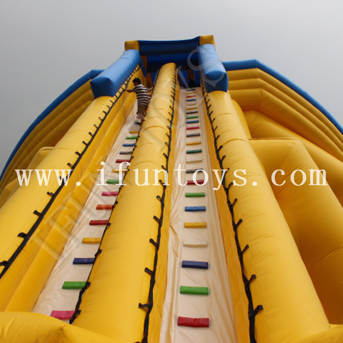 3 Lanes Inflatable Hippo Water Slide / Trippo Waterslide for Sale