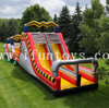 commercial high voltage adult outdoor inflatable playground equipment/inflatable run obstacle course/inflatable wipeout obstacle