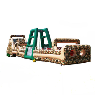 Giant Boot Camp Challenge inflatable Obstacle Course for adults