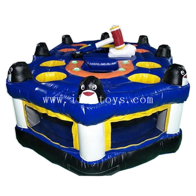2019 Newest Inflatable Whack A Mole with IPS / IPS Inflatable Interactive Light Battle Arena Human Whack A Mole Game