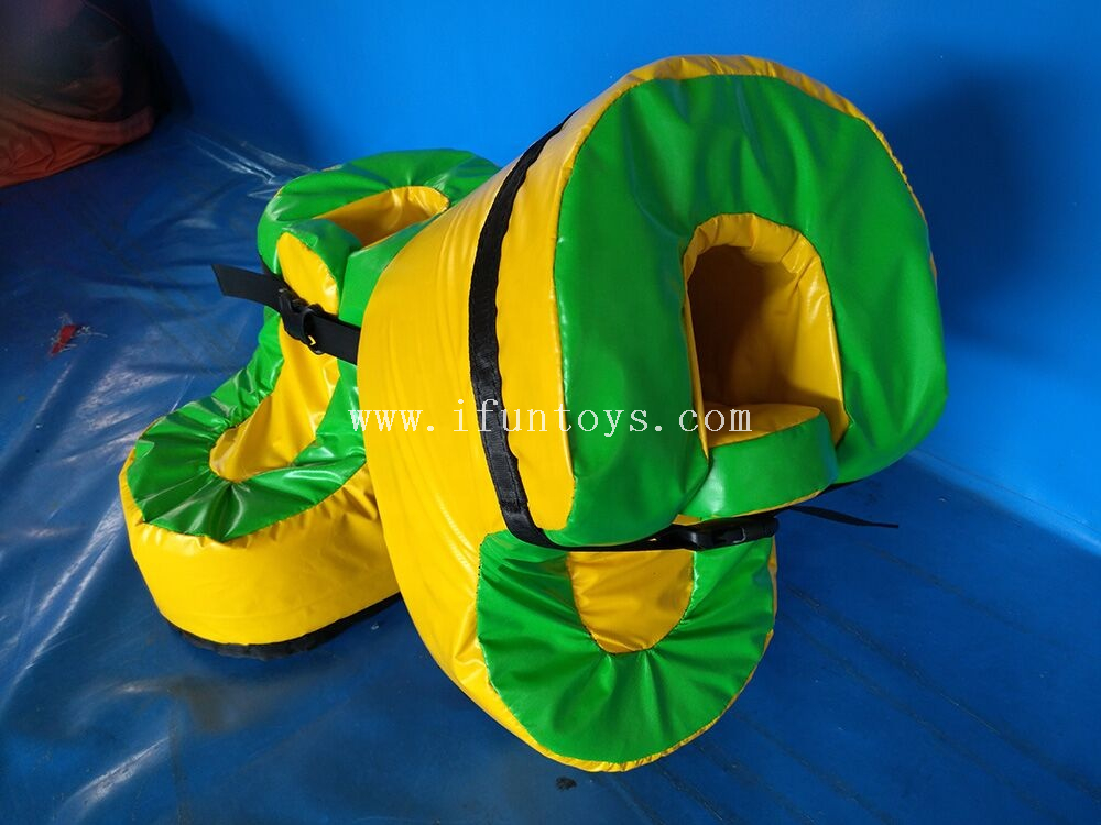 Giant Inflatable Speed Shoes for Football Game ,Inflatable Sport Walking Shoes