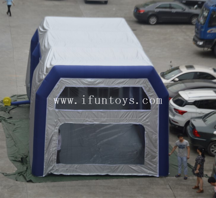 Automobile inflatable giant car workstation /inflatable spray paint booth / Car Cover Wash Garage Tent for sale