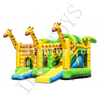 Outdoor Inflatable Giraffe Bouncy Castle / Bouncy Slide / Inflatable Funcity for Birthday Party