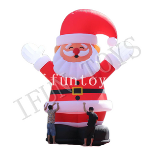 6m Tall Inflatable Santa Claus for Christmas Decoration
