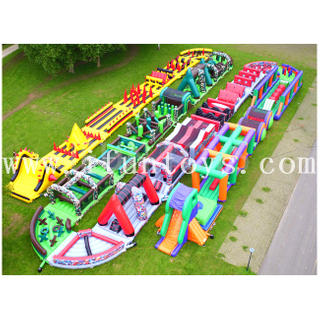 Beast Inflatable 5K Obstacle Run / Extreme Obstacle Race for Outdoor Sport Game