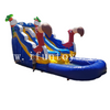 Cheap Inflatable Flamingo Water Slide with Pool for Sale