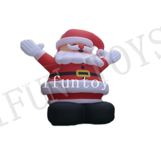 Outdoor Giant Inflatable Santa Claus for Christmas Decoration
