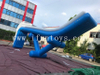 Funny inflatable floating yacht slide/inflatable pontoon slide/Inflatable floating water slide for boat