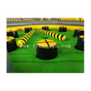 Inflatable Meltdown Mechanical Rotating Obstacles Games/Inflatable Eliminator Zone/ Inflatable Wipeout Bouncer Game for Adults