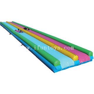 Giant inflatable super slip slide water foam wet slide for kids