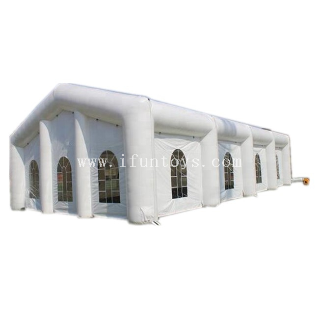 Waterproof Outdoor Inflatable Wedding Tent /Inflatable House Tent For Party/White Inflatable Event Tent For Sale