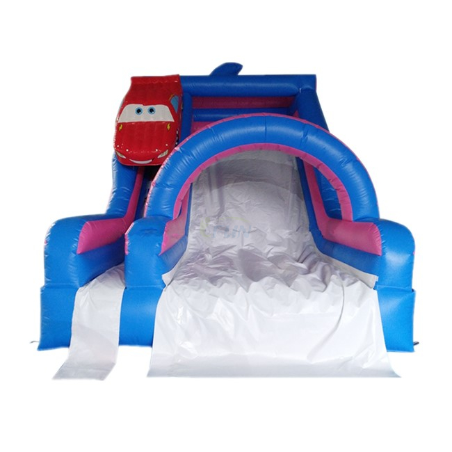 Car Themed Inflatable Water Slide/Inflatable Slip N Slide/Inflatable Water Park Slide For Kids And Adults