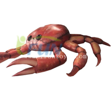 Giant Inflatable Crab for Outdoor Advertising / Inflatable Crab Model for Top Roof Decoration