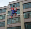 Inflatable Spider Man Cartoon Climbing Wall Decoration for Event