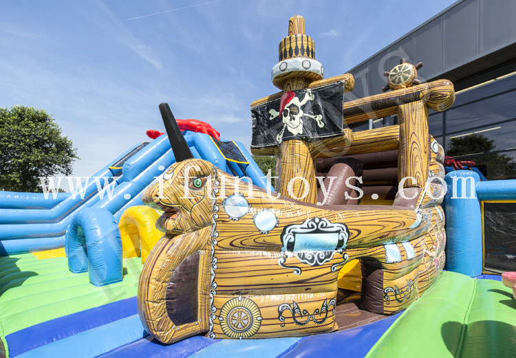 Sealife World Inflatable Playground / Fun City Amusement Park for Kids