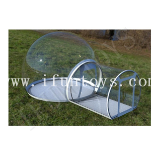 Inflatable Bubble Camping Tent / Clear Inflatable Bubble Tent with Room / Inflatable Bubble Lodge Hotel for Sale