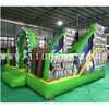 inflatable building theme bouncy castle with slide/inflatable bouncer combo obstacles/inflatable bounce house for Amusement Park