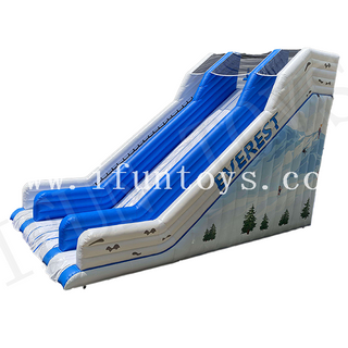 Everest Inflatable Dry Slide / Everest Ice Slide / Inflatable Amusement Park Slide for Kids and Adults