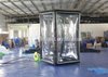 Air Sealed Inflatable Money Grab Booth / Cash Cube Money Machine Booth for Event