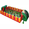 Wholesale Giant life-size 12 players team building inflatable human foosball /table soccer field/ party games for sale