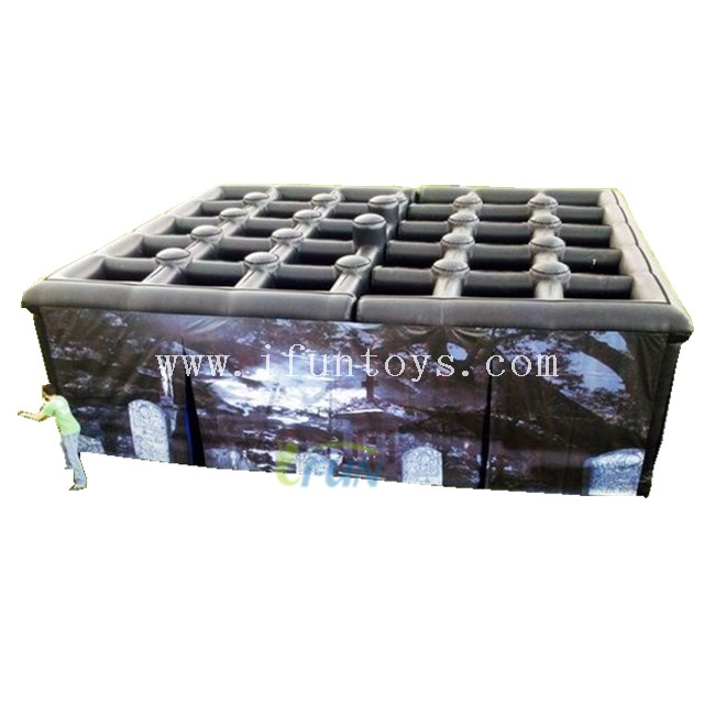 Outdoor Halloween Inflatable Haunted House / Inflatable Haunted Maze/ Inflatable Obstacle Maze for Sale