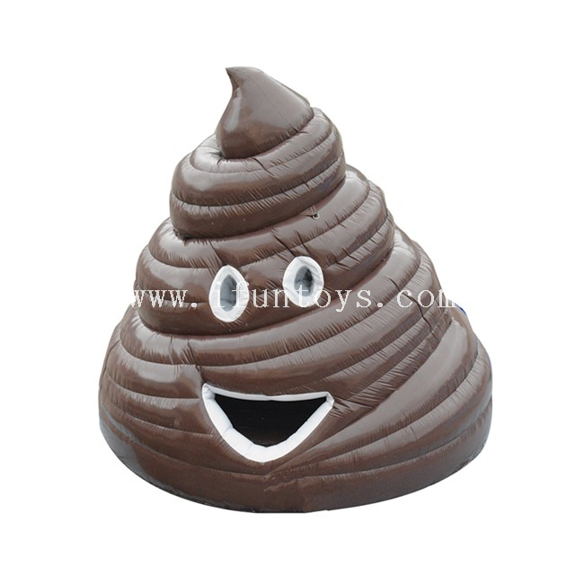 Inflatable Big Stinka Moonwalk / Giant Inflatable Poop Emoji Bounce House / Inflatable Poop Jumper for Party