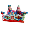 Inflatable Candy Jumping House / Bouncer Castle Fun Park Playground for Kids