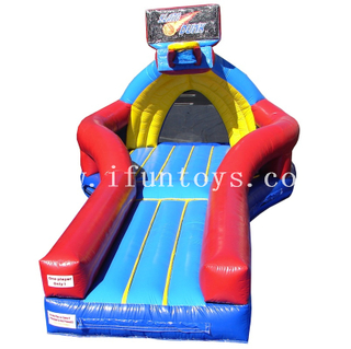 Funny Sporting Inflatable Slam Dunk Basketball Game/ Inflatable Basketball Shootout /Inflatable Basketball challenge game