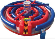 2019 inflatable Kapow Obstacle Course Maze / inflatable mechanical kapow obstacles/ wipe out games for team building