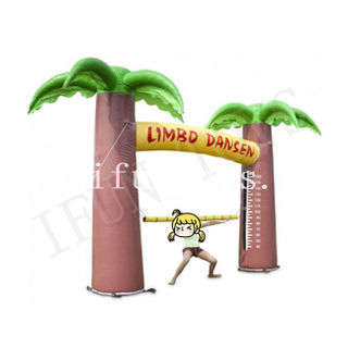 Interactive Inflatable Limbo Game / Limbo Dansen / Limbo Dance Arch Game
