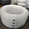 Round Inflatable Ice Bath / White Inflatable Team Ice Bath / Inflatable Recovery Bathtub for Athletes