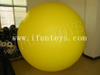 Smile Face Inflatable Helium Balloon / PVC Inflatable Hanging Ball for Event