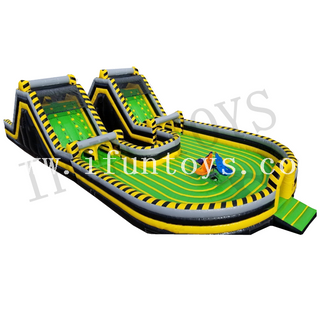 Cyclone Dizzy Dash Obstacle Course Game for 4 Players