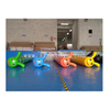 Outdoor Team Building Inflatable Caterpillar Pipe Games/ Inflatable Bouncy Sausage Racing for 5persons
