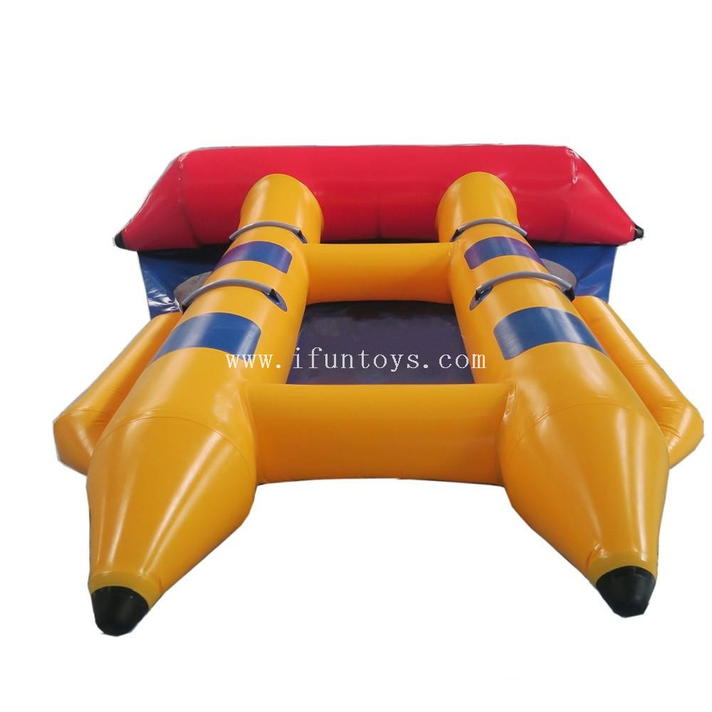 Crazy Inflatable Flying Fish Tube/ Inflatable Flying Towable/Inflatable Banana Boat Flyfish for sale
