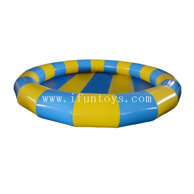 0.9mm PVC Tarpaulin Round Inflatable Swimming Pool for Kids