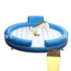 Amusement Park Mechanical Unicorn Bull Ride with Inflatable Mattress for Kids And Adults