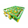 Outdoor Inflatable Corn Maze Game / Obstacle Maze Playground with Air Blower for Sale