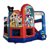 Most popular mickey mouse inflatable combo bouncer/inflatable jumping castle with slide /inflatable bouncer house for kids