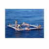 Inflatable Water Platform Swimming Pool / Inflatable Floating Sea Pool with Safety Net for Yacht