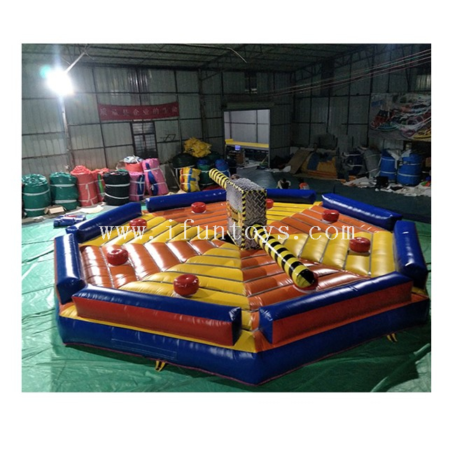 Interactive Inflatable Sweeper Game /Meltdown Inflatable Game / Inflatable Wipeout Eliminator Game