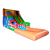Outdoor inflatable Tunnel Water Slides with Pool/Tunnel Inflatable Slip N Slide/Inflatable Splash Tunnel Slide For Kids