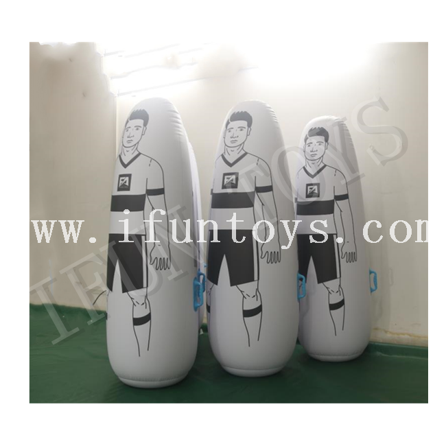 Adults Inflatable Football Training Goalkeeper / Football Practice Tumbler / Soccer Dummy