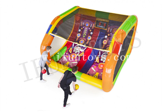 Interactive Play System Inflatable IPS Pinball Game / Inflatable Shooting Arena Sport Game