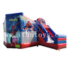 Inflatable Spiderman Bouncy Castle Slide Combo / Play Park for Kids