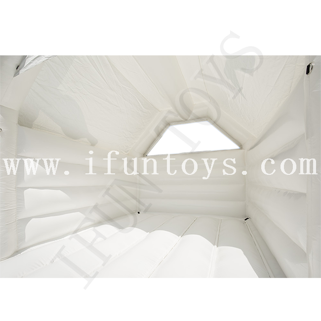 Cheap Inflatable Wedding Castle / White Bouncy Castle for Wedding